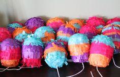 MINI PIÑATAS + HAPPY WEEKEND — And We Play | DIY For Kids