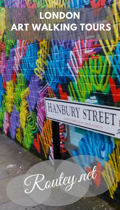 Discover London art self-guided walking tours and locations with Routey, a tours creation and sharing platform.