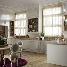 Cucina in stile inglese | Boiserie laccata