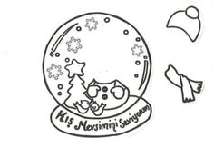 School Teacher, Pre School, Theme Noel, Winter Theme, Fun Projects, Holiday Fun, Snow Globes, Coloring Pages, Paper Crafts