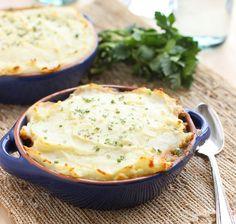 Pastel de lentejas y verduras al vino con patata | #Receta de cocina | #Vegana - Vegetariana ecoagricultor.com