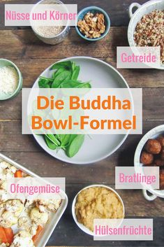 Buddha Bowl, der warme Bruder des Salats Buddha bowls are the best winter lunch because they are full of vitamins, healthy spices and lots of love. The preparation is less a strict recipe than a formula, the Buddha Bowl formula. Food Bowl, Clean Eating Diet, Health Eating, Bol Buddha, Healthy Life, Healthy Nutrition, Healthy Food, Healthy Lunches, Eating Healthy
