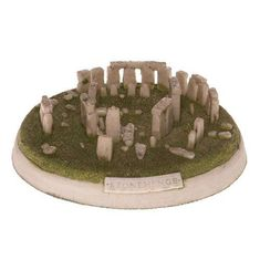 Stonehenge model. I got this when I visited the real thing. English Heritage,