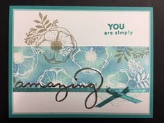 My Creative Corner!: Amazing You, 2018 Sale-a-Brations Card, Stampin' Up, Rubber Stamping, Handmade Cards