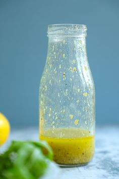This easy keto lemon dressing, (or vinaigrette if you want to get fancy about it) is a staple in my kitchen. Not just for low carb salads, you can use it on grilled veggies, chicken and fish too! #ibih #lowcarb #keto #ketodiet #ketorecipes #glutenfree #ketodressing #ketovinaigrette #saladdressing #lemonvinaigrette