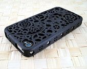 steampunk iphone case -WANT