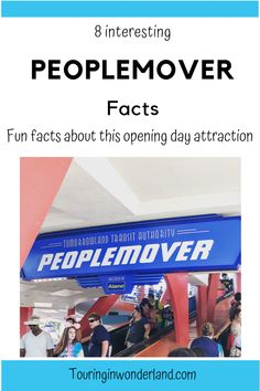 These fun things about the Peoplemover at Disney are really interesting. This opening day attraction is beloved by many people, and a classic ride at Disney World. Disney On A Budget, Disney Vacation Planning, Disney World Vacation, Disney Vacations, Disney Travel, Trip Planning, Walt Disney World Rides, All Disney Parks, Disney Secrets