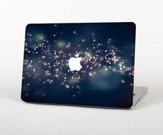 The Dark & Glowing Sparks Skin Set for the Apple MacBook Pro 13""