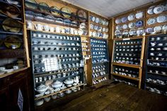 Verner Rasmus Museum is a special museum with a unique collection of Porcelain objects. Ostrobothnia province of Western Finland. Portal, Finland, Wine Rack, Liquor Cabinet, Westerns, Objects, Porcelain, Storage, Unique