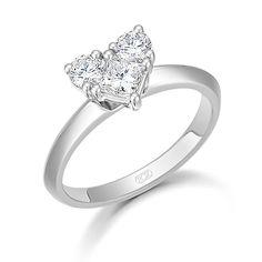 Heart Me Diamond Ring 0.80cts  www.rox.co.uk/sku/50905