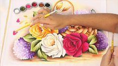 DVD Vol.2 de Pintura em tecido - Ana Laura Rodrigues