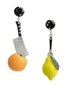 I found this great LA HORMIGA Earrings for $72 on yoox.com.