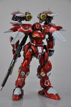 GSB 1/60 Gerbera Tetra with LED Gimmick Custom Build - Gundam Kits Collection News and Reviews