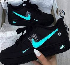 most popular nike products sneakers nike air force Jordan Shoes Girls, Girls Shoes, Ladies Shoes, Nike Shoes For Women, Ladies Footwear, Cute Sneakers, Shoes Sneakers, Women's Shoes, Black Sneakers