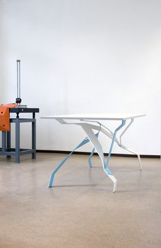 Breeding Tables: algorithmically grown furniture