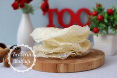 Güllaç Yaprağı Tarifi | Kevserin Mutfağı - Yemek Tarifleri Camembert Cheese, Food, Essen, Meals, Yemek, Eten