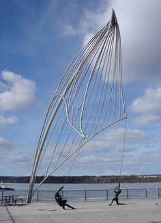 Sailing Sculpture on Hamilton's Waterfront