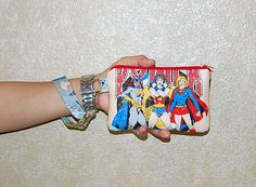Wristlet Purse with Removable Strap and Interior by RKEMdesigns, $16.95