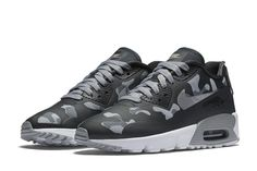 low priced af78f 5b153 Nike Air Max 90 Ultra Grey Camo Nike Sportswear Camo  Pack  Air Force 1