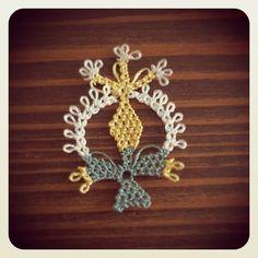 Teneriffe, Turkish Art, Needle Lace, Lace Making, Crochet Accessories, Crochet Flowers, Tatting, Needlework, Knots