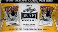 We offer a selection of 2014 Leaf Draft Football Cards on Sportslots - go to http://www.sportlots.com/dealers/?dealer=DBoninJr&ref=DBoninJr and under search DBoninJr cards enter what you are looking for. Search by card, set, or player.