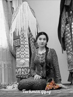 Güzel Türkmen kızı