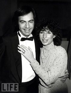 Neil Diamond and Barbra Streisand