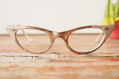 A personal favorite from my Etsy shop https://www.etsy.com/listing/253954198/vintage-eyeglasses-cat-eye-frames