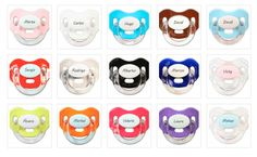 Chupetes personalizados Boann http://www.cktiendaonline.es/bebe/chupetes-personalizados-boann