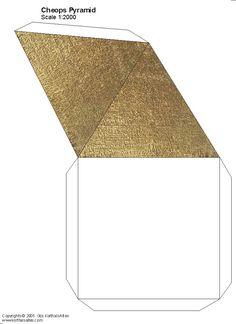 How to make paper pyramids