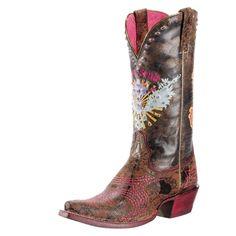 Western Fashion Pink & Sassy Soule - Ariat