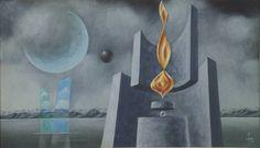 www.iarremate.com.br Leilão André Cencin dia 20/01 as 21hs! lote 0026 Walter Lewy - Surreal - oleo/tela - med 36 x 60 cm - acid #iarremate #andrecencin #arte #art #walterlewy #decoração #coleção #casacor #arquitetura