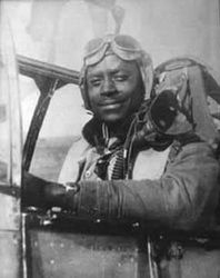 Tuskegee Airmen Lt. Charles P. Bailey 99th Fighter Squadron, 322nd Fighter Group - Stardust Studios