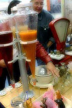Juice in Estonia in 1980s