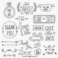 Discover thousands of images about Lettering Doodles, Wedding Ornament, Doodle Lettering, Doodle Drawings, Bullet Journal Inspiration, Emoticon, How To Draw Hands, Clip Art, Letters