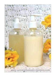 Here's some healthy homemade lotion recipes. Great natural skin moisturizers - you'll never go back to store lotions again!