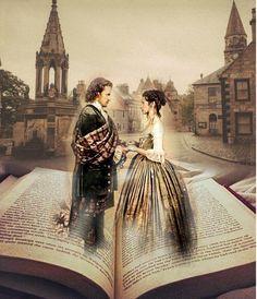 #OutlanderFinale Amo esta Serie! Jamie and Claire Forever!