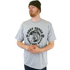 Obey Tough Guy T-Shirt grau ★★★★★
