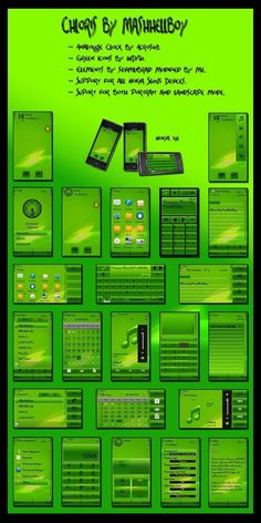 Temi / Themes Symbian Chloris By Mashhellboy Per Smartphone Nokia : Download #SmartphoneNokia