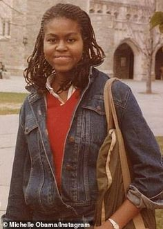 """accras: """"First Lady Michelle Obama at Princeton in the early [x] """" Durham, Joe Biden, Young Celebrities, Celebs, Barak And Michelle Obama, Michelle Obama College, American First Ladies, American Pride, Barack Obama Family"""