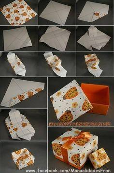Caja de papel!
