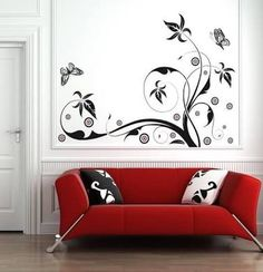 Resultado de imagen para decoracion con calcomanias para pared
