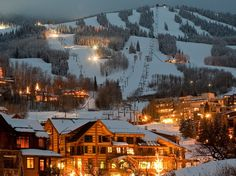 Snowmass, Colo.   All-time favorite ski resort!  Always stay at The Crestwood