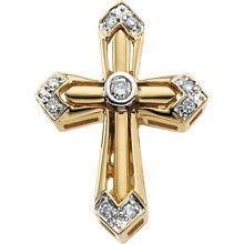 Complete Rhod Pltd Dia Unity Cross In Yellow Gold Knights Templar Ring, Unity Cross, Masonic Gifts, Freemason Ring, Masonic Jewelry, Jewelry Gifts, Fine Jewelry, Ring Watch, Diamond Cross