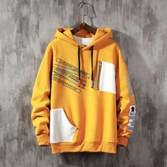 2020 spring/autumn youth The new hooded hoodie men's version of men's fashion men's loose and Fashion personality men's hoodie Grunge Style, Soft Grunge, Tokyo Street Fashion, Grunge Outfits, Boy Outfits, Topshop, Le Happy, Harajuku, Cool Hoodies
