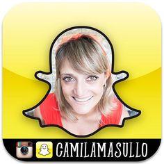 Depois de um conversê com a fofa da Sandra Matarazzo do @receitasetemperos me animei e criei minha conta no Snapchat. E não é que eu estou curtindo super?! :D Quem quiser ver o que rola por lá, me adicione: camilamasullo ;) #saldeflor #snapchat #love #loveit