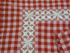 """The magic of a Embroidery: Long live the """"Broderie Suisse"""" ! Swedish Embroidery, Hardanger Embroidery, Lace Embroidery, Cross Stitch Embroidery, Embroidery Designs, Chicken Scratch Embroidery, Pinterest Crafts, Sewing Notions, Crafty Projects"""