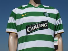 Celtic F.C. Home Shirt 2008-2010 Champions League Short Sleeve Player Issue