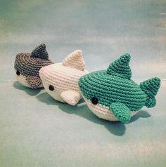 Shark Amigurumi Pattern PDF Megalodon Great White Shark
