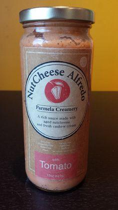 Parmela Creamery - NutCheese Alfredo - Tomato #vegan